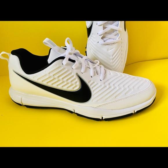 nike explorer 2 golf shoes black